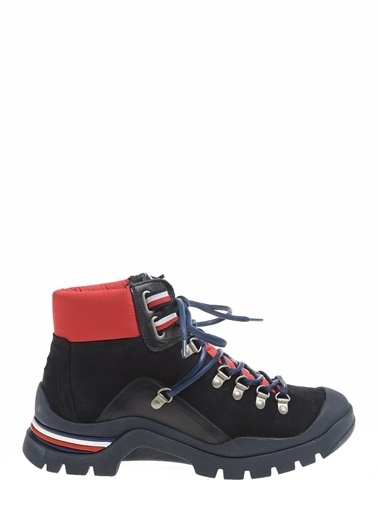 Tommy Hilfiger Erkek Corporate Outdoor Boot Bot FM0FM02414 Renkli